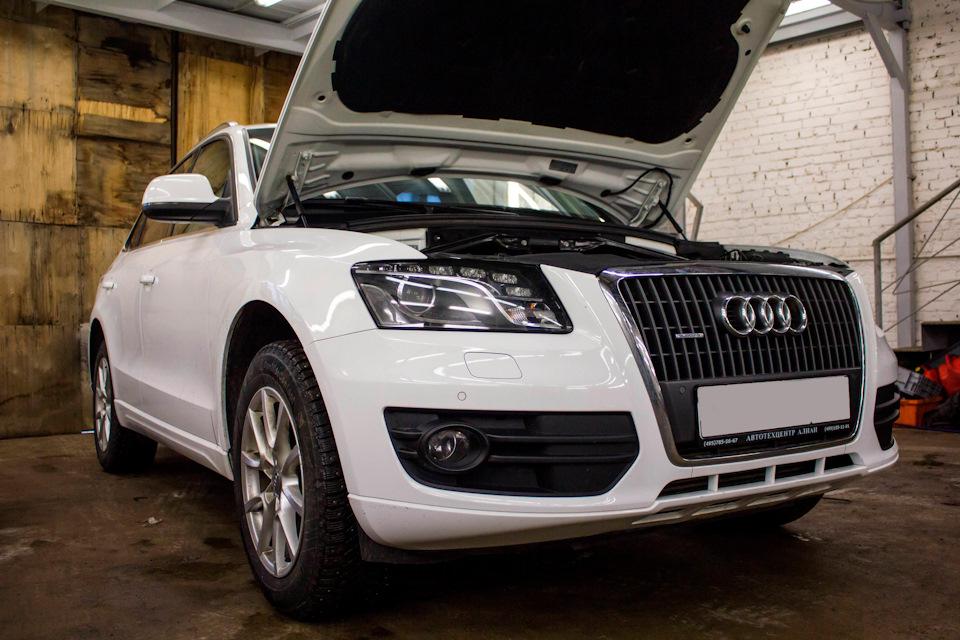 Капитальный ремонт двигателя CDNC Audi Q5 (Борьба с масложором)