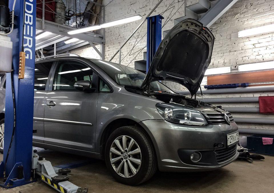 Чистка форсунок на Volkswagen Touran 1.4 TSI CAVD