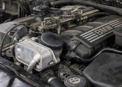Устранение течей масла BMW 5-series E60