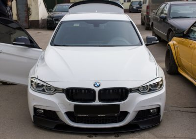 Установка AirLift Performance 3P на BMW F30