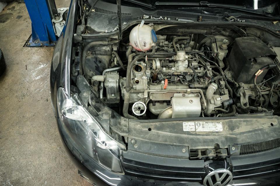 Ремонт подвески и обслуживание ДВС Volkswagen Golf MK6