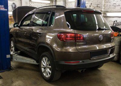 Замена насоса ОЖ на Volkswagen Tiguan