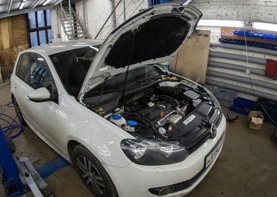 Замена цепи ГРМ на Volkswagen Golf MK6 1.4 CAXA