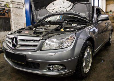 Замена цепи ГРМ Mercedes C-class M271.950