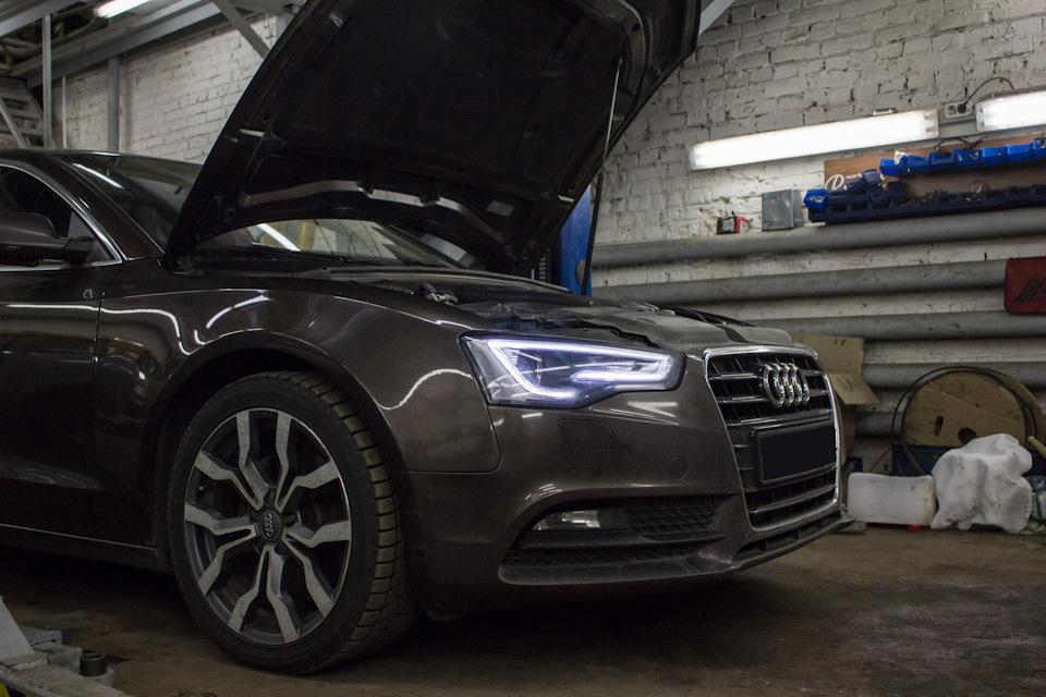 Замена цепи Audi A5 1.8 TFSI
