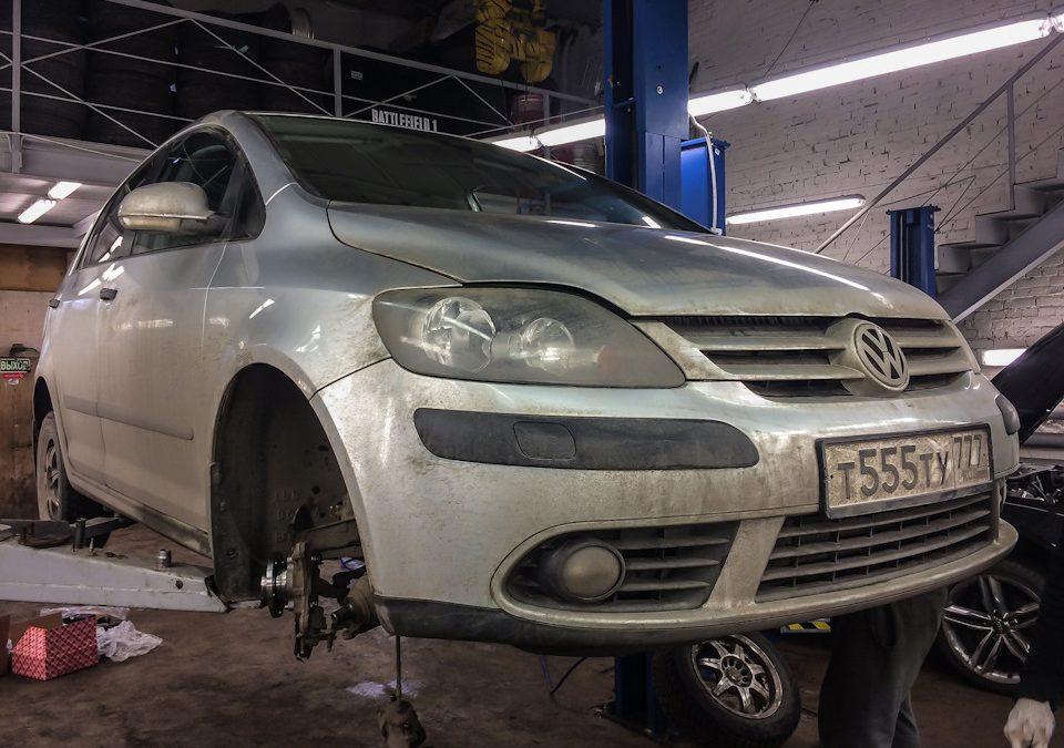 Ремонт подвески Volkswagen Golf Plus
