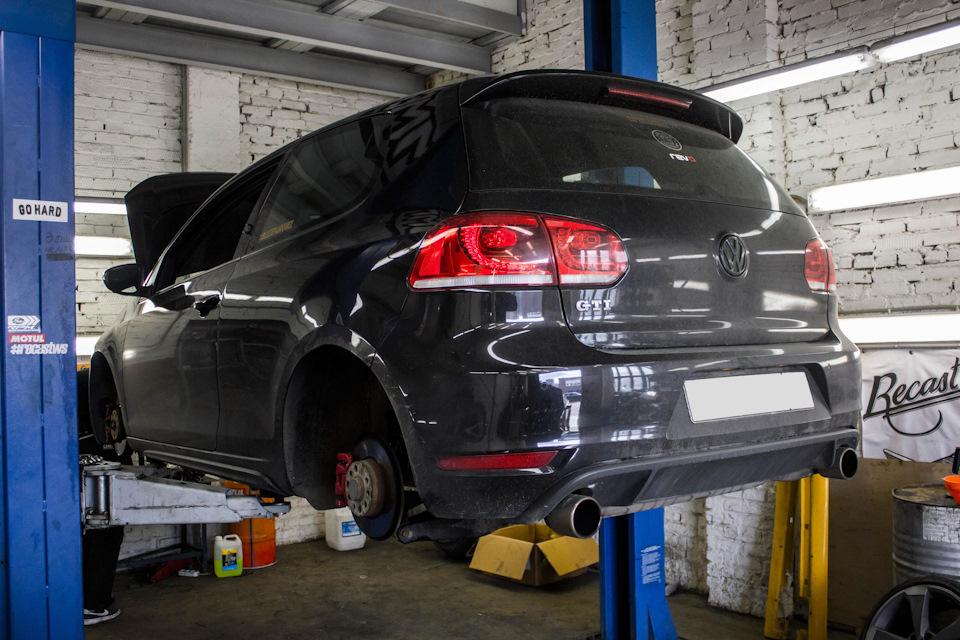Ремонт ходовой части Volkswagen Golf MK6 GTI