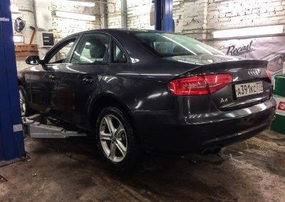 Замена ступичных подшипников на Audi A4 B8
