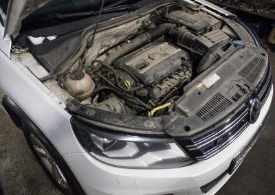 Чистка впуска Volkswagen Tiguan 2.0 TSI