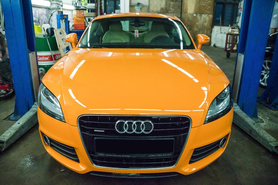 Плановое ТО Audi TT