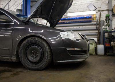 Замена заднего сальника коленвала VW Passat B6
