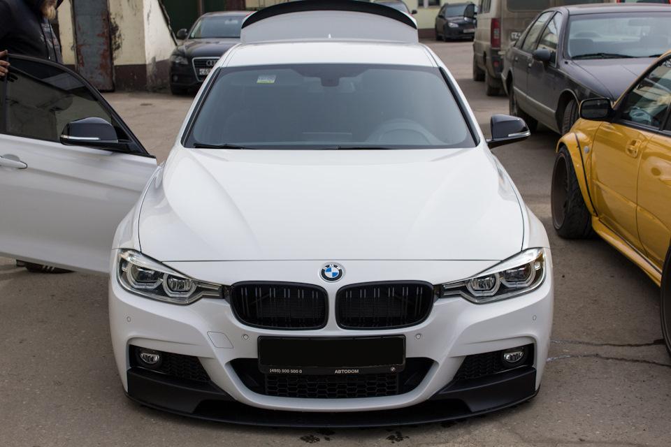 Установка AirLift Performance 3P на BMW F30