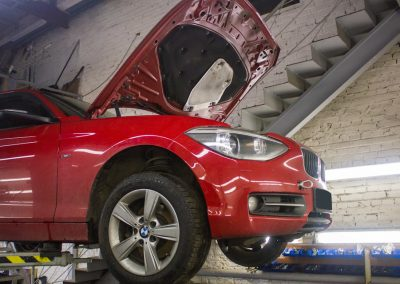 Замена сцепления BMW F20