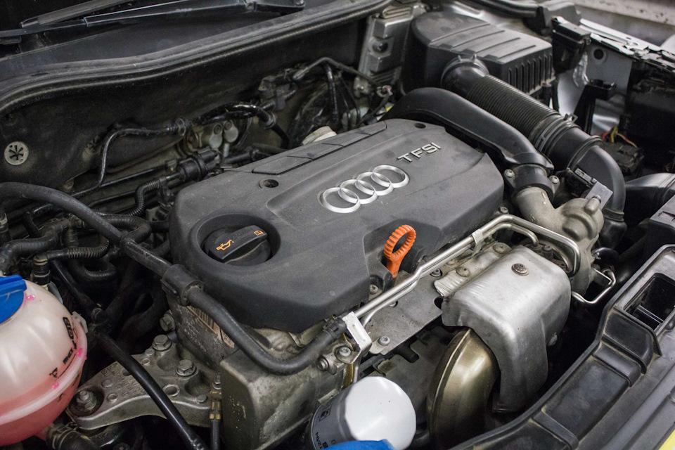 Замена цепи Audi A1 1.4 CAXA