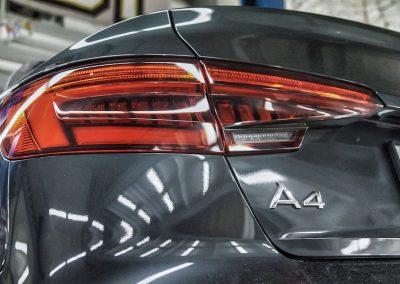 Установка пружин Eibach на Audi A4 B9