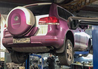 Замена цепи ГРМ Volkswagen Touareg 3.2 VR6